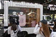 NY Yankees Fragrance Truck