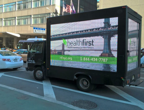 Health First Digital Advertising Truck