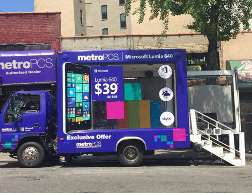 Metro PCS Experience Marketing Truck